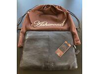 Ashwood Genuine Soft Leather Folio Case - 39cm x 29cm - Brand New With Tags