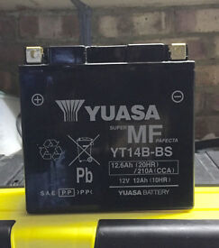 Yuasa Motorcycle Battery - New & Unused