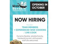 LINE COOK / KITCHEN STAFF/ TEAM MEMBERS