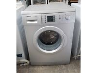 FREE DELIVERY Silver Bosch Exxel 7kg, 1200spin washing machine