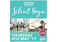 Outdoor SILENT YOGA - Central Bournemouth - 4TH MAY 2017