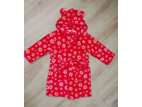 Girl's dressing gown, age 4, John Lewis, very good condition