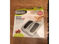 Homedics Deluxe Shiatsu Full Foot Massager FM-TS9-GB With Heat BRAND NEW ONO