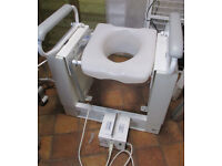 EASI-SEAT Toilet Riser Seat 4000 series with removable seat insert 240V PSU