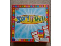 Sort it Out! Board Game
