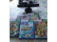 Xbox 360 Kinect and five games