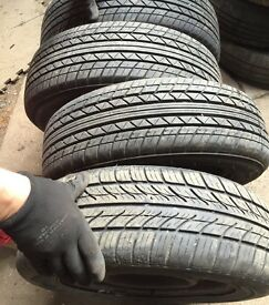 """100 x 13"""" or 14"""" part worn tyres £100"""
