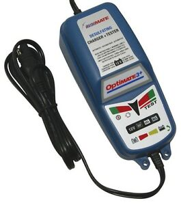 GENUINE Triumph Optimate 3+ SAE Connector Battery Charger + Conditioner 20% OFF