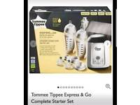 Tommee tippee express and go starter set