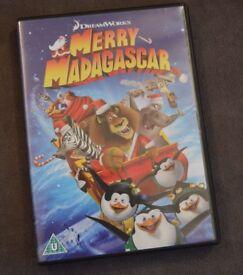 Merry Madagascar (Dreamworks) DVD