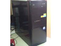 AMD DUAL CORE 64 X 2 5000+ 4GB RAM 250GB HARD DRIVE AMD RADEON 5450 1GB WINDOWS 7 HOME PREMIUM