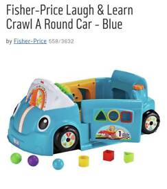 Fisher price car.