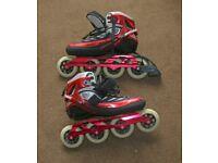 Rollerblade Marathon Carbon Fly 4x100 Inline Skates