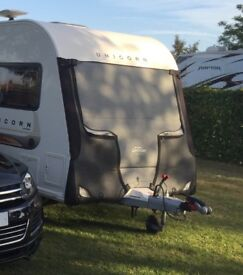 Caravan Front Towing Cover to fit Bailey Unicorn 2012, Tow Pro Elite