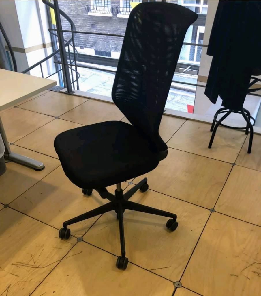 Vitra Meda Black Office Chair Free Delivery