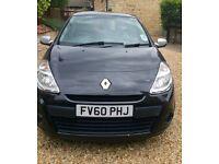 Renault Clio-music 4door hatch petrol black car