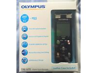 OLYMPUS Digital Voice Record DM-670 Dictaphone - £80!!!