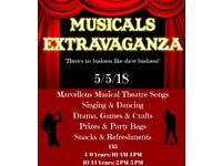 Musicals Extravaganza-Kids Workshop