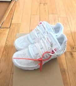AUTHENTIC Off-White x Nike Presto's WHITE . Size 8