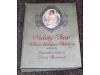 Vintage book ,Vanity Fair, by William Makepeace Thackeray HB c1913 Illustrations Lewis Baumer