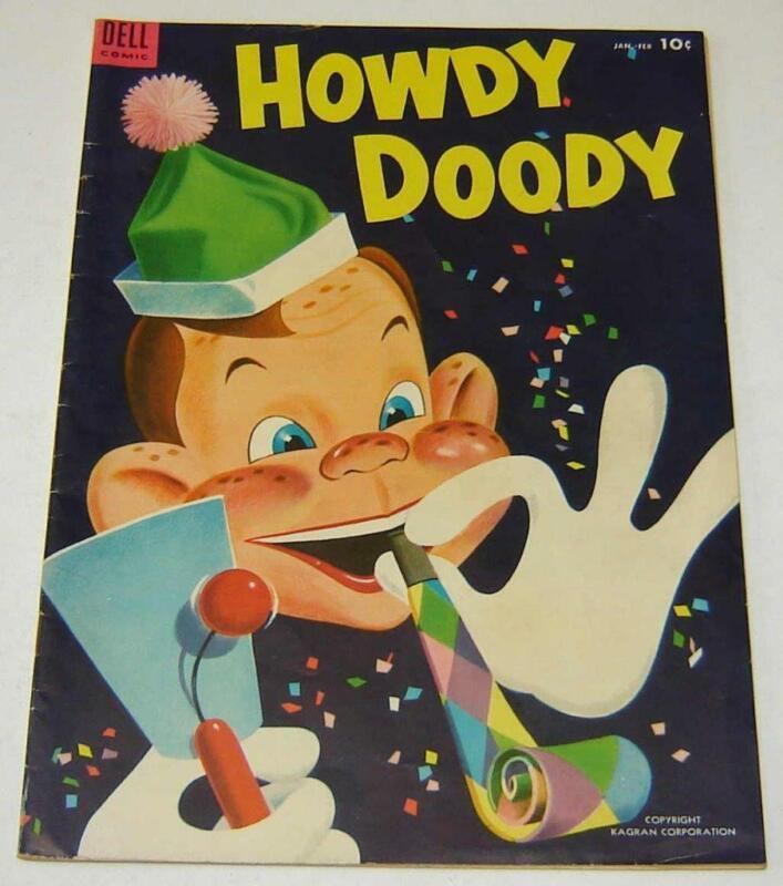 """HOWDY DOODY"" #26 (1954) FINE PLUS COPY"