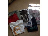 Quicksilver, Fatface, Lee, DC, Vans, Bear Grylls T- shirt