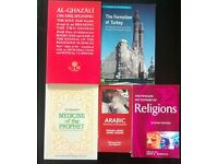 Islamic Books Ghazali Soul Turkey Medicine of Prophet as-Suyuti Arabic Dictionary of Religions