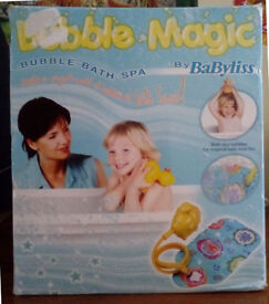 BaByliss Bubble Magic Bubble Bath Spa - BRAND NEW