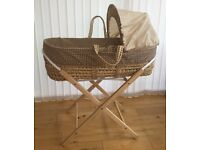 Baby Moses Basket and Stand