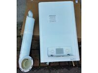 British Gas 330+ High Efficiency Condensing Boiler, 13kW Sealed System Kit with Telescopic Flue