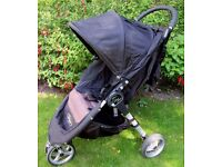 City Mini stroller pushchair with cosy toes & raincover.Ok from birth .In good clean cond' RRP £249