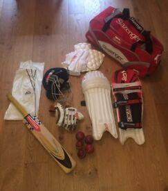 Cricket equipment - full set