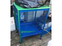 Chinchilla Rat Degu cage