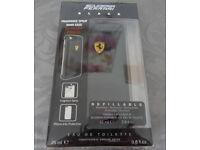 Brand new sealed Genuine Scuderia Ferrari Black iPhone Cover mens fragrance as pictured