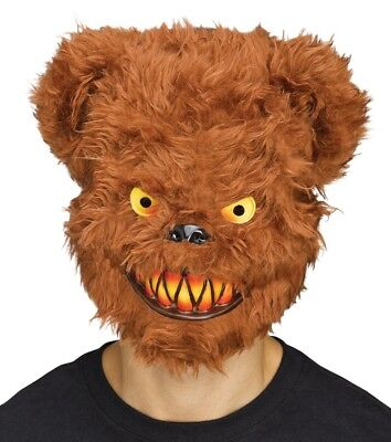 Adult KILLER BEAR Mask Frightfully Realistic and Furry - Bear Costume Adults Realistic
