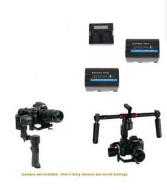 CAME-TV PROPHET Pro Gimbal + accessories dual handle remote etc - like DJI Ronin M Ronin S