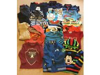 Large bundle of boys clothes age 3-4