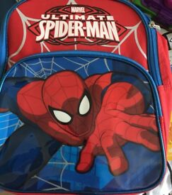 Spiderman backpack never used