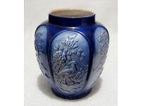 A Nice Sylvac Pottery Peacock Ginger Jar