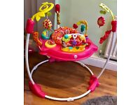 Fisher Price Baby Girls Pink Jumperoo Fab Condition