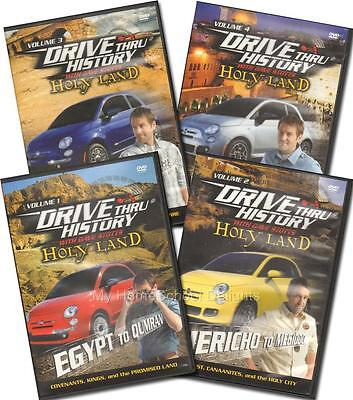 New Drive Thru History HOLY LAND Complete 4 DVD SET Dave Stotts Homeschool