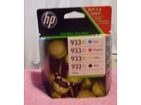 HP Printer Ink Cartridges NEW