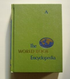 THE WORLD BOOK ENCYCLOPEDIAS SET OF 24 VOLUMES MID 1960'S EDITION