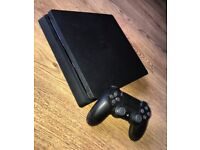 Slimline Sony Playstation 4 + 3 Games (500gb) PS4
