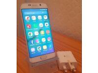 Samsung Galaxy S6 Edge SM-G925F - 32GB - White Pearl (Vodafone) Ref # PF 793
