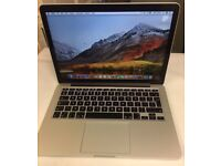 "Macbook Pro 2015, A1502 13"" Retina i5 8gb Memory 128gb SSD Hard Drive"