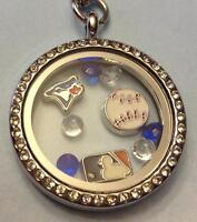Floating lockets and charms