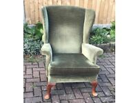 Parker knoll Wing Chair model Pk 720 Mk 3