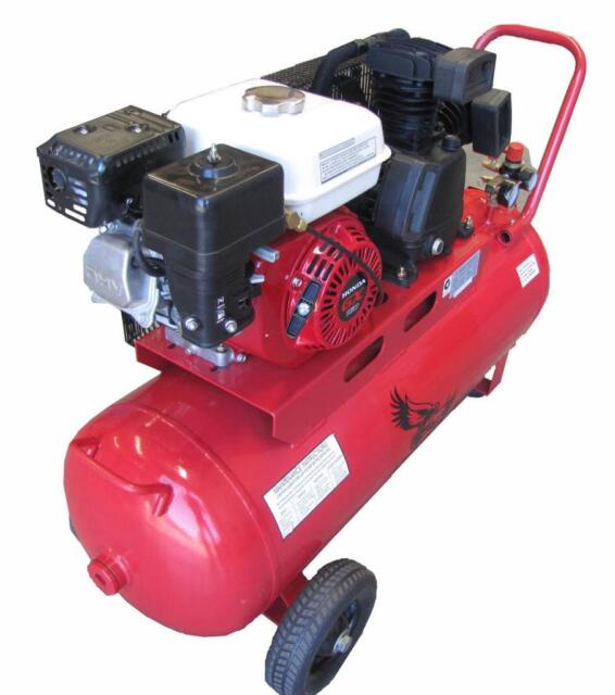 Petrol Compressor Honda 5.5HP 100LT 18CFM 125PSI | Other ...