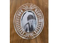 "Waterford Crystal Oval Photo Frame 3"" x 2"""